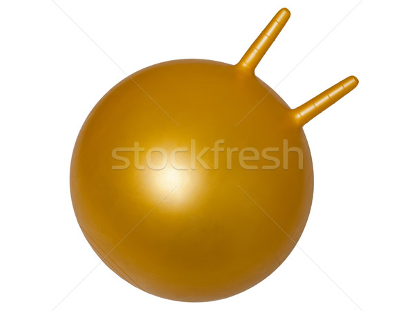 Deporte pelota aerobic belleza Foto stock © ia_64