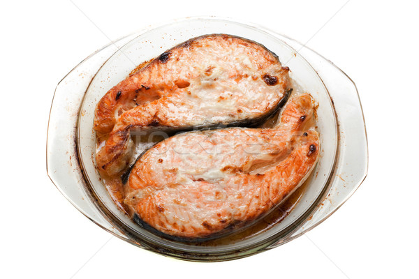 Salmon fish Stock photo © ia_64