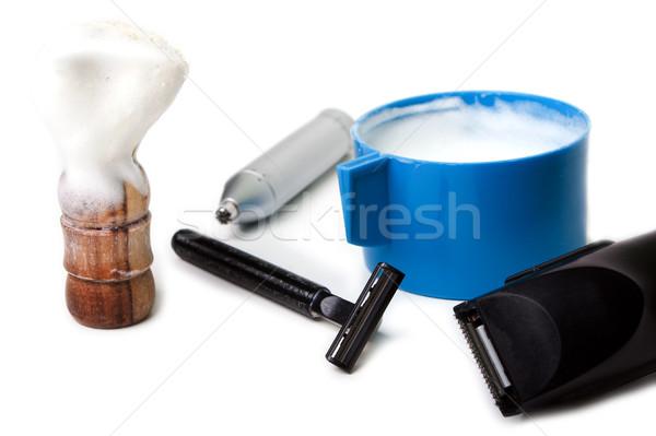 Shaving equipment Stock photo © ia_64
