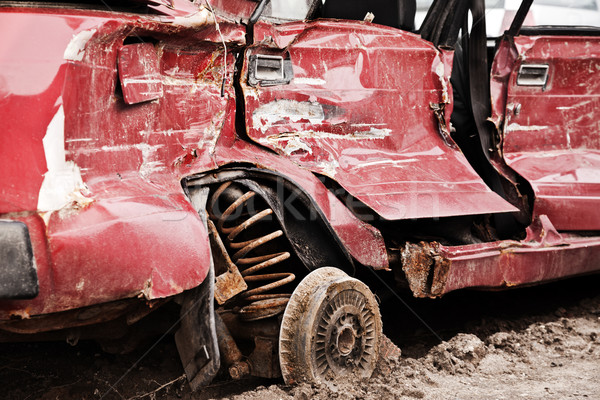 Broken car Stock photo © ia_64