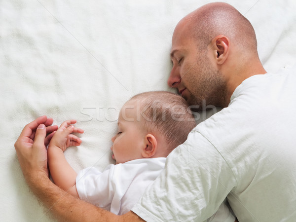 Father and child Stock photo © ia_64
