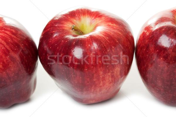 Mela frutta alimentare isolato bianco Foto d'archivio © ia_64