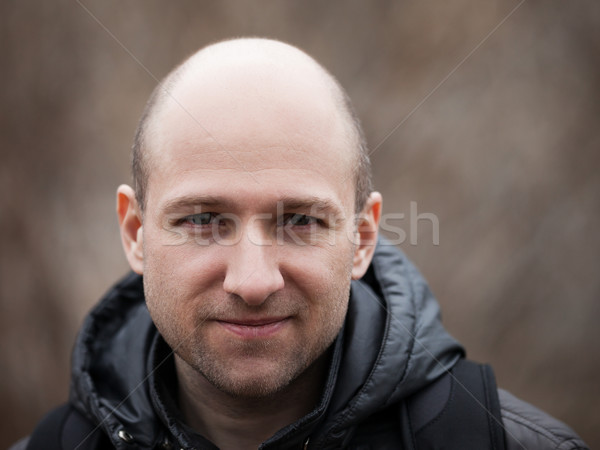 Bald man portrait Stock photo © ia_64