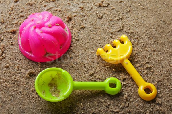 Sandbox toys Stock photo © ia_64