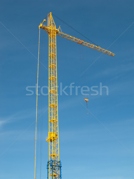 Building crane Stock photo © ia_64