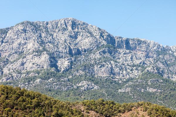 Turkey Taurus rock mountains landscape Stock photo © ia_64