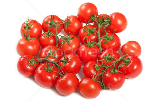 Kırmızı domates gıda sağlıklı beslenme olgun Stok fotoğraf © ia_64