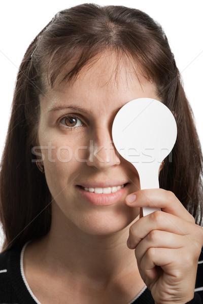 視力 試験 人間 薬 医療 女性 ストックフォト © ia_64