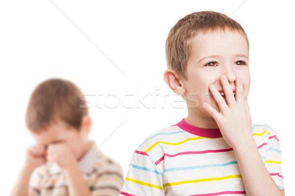 Children in conflict quarrel Stock photo © ia_64