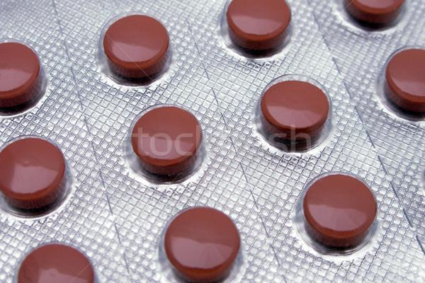 Stock fotó: Gyógyszer · tabletta · egészségügy · egészséges · életmód · háttér · kórház