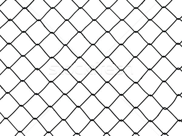Wire fence Stock photo © ia_64
