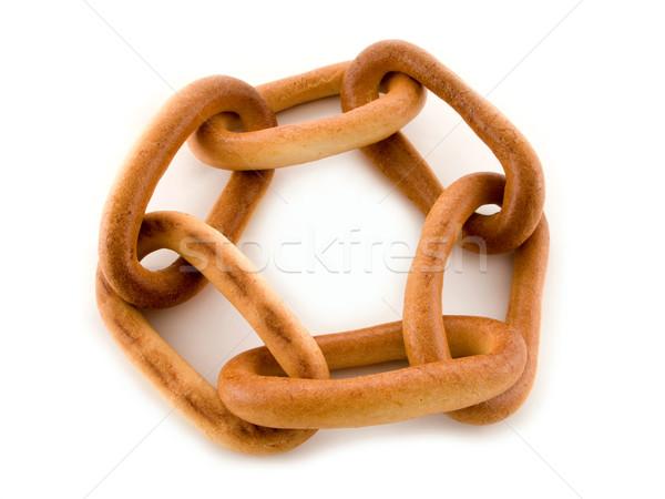 Donut closed chain Stock photo © ia_64