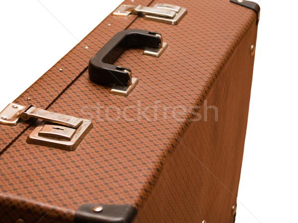 Suitcase for luggage Stock photo © ia_64