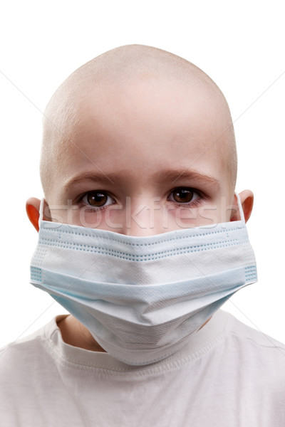 Child in medicine mask Stock photo © ia_64
