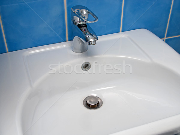 Sink and faucet Stock photo © ia_64
