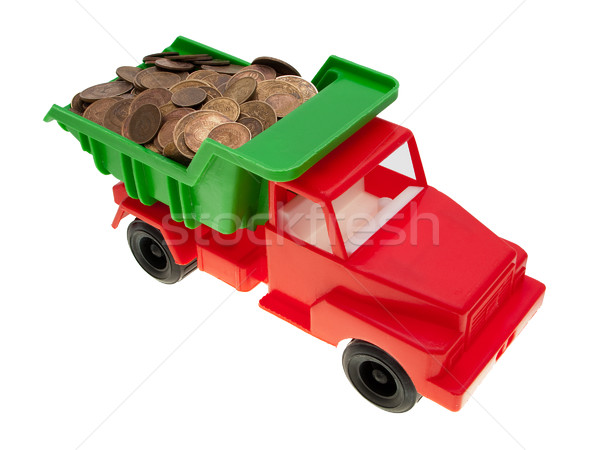 Coin car Stock photo © ia_64