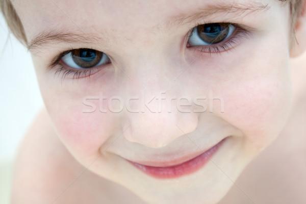 Mały dziecko uśmiechnięty szczęścia zabawy rodziny Zdjęcia stock © ia_64