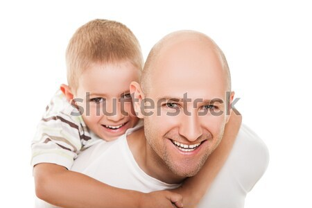 Father and son Stock photo © ia_64