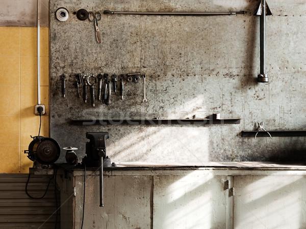 Workshop workbench Stock photo © ia_64