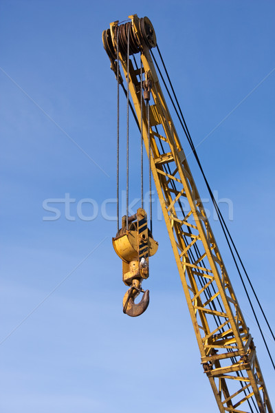 Crane hook Stock photo © ia_64