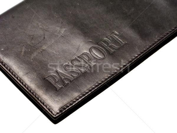Pasaport seyahat belge iş kimlik kartı kimlik Stok fotoğraf © ia_64