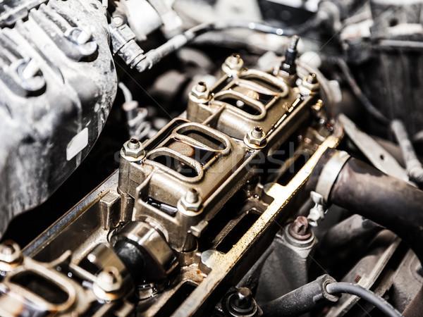 автомобиль Motor Auto автомобилей двигатель автомобиль Сток-фото © ia_64