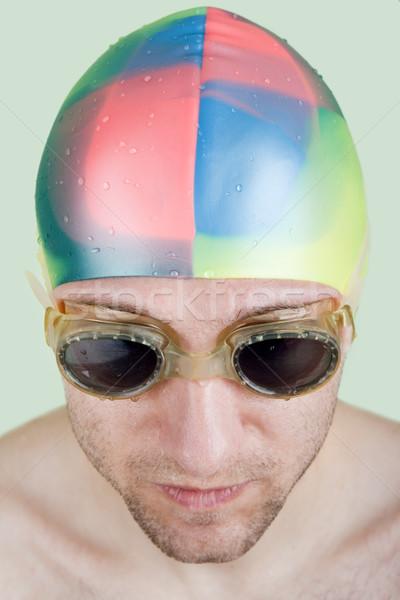 Nuoto sport acqua piscina perseguimento atleta Foto d'archivio © ia_64