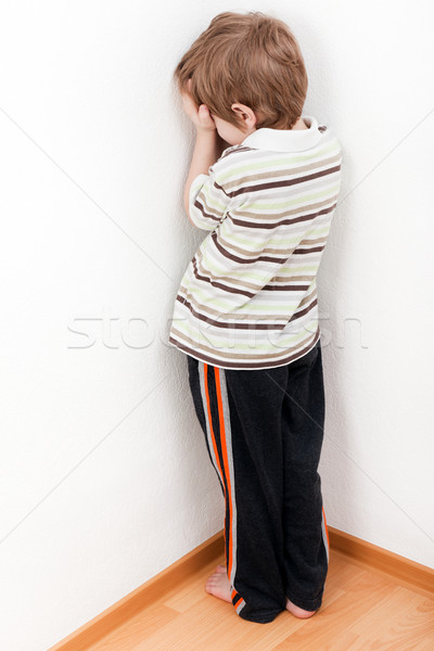 Stock photo: Child punishment