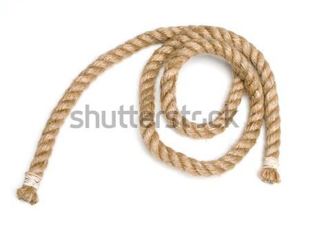 Rope isolated on white Stock photo © ia_64