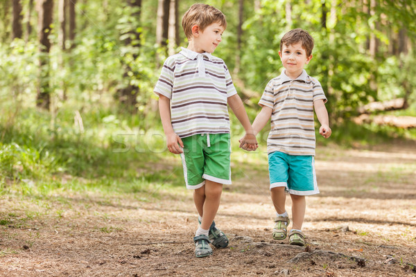 2 弟 男の子 家族 幸福 ストックフォト © ia_64