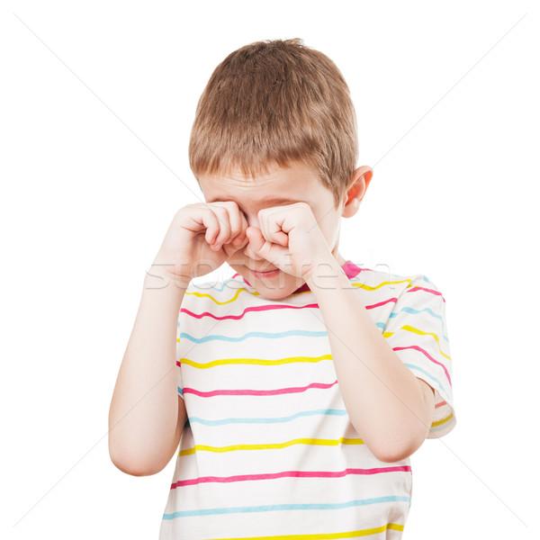 Little child crying Stock photo © ia_64