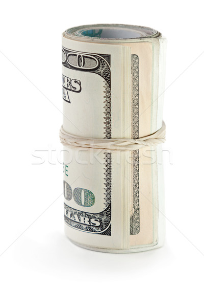 Rolled dollar currency Stock photo © ia_64