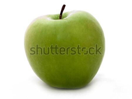 Alma gyümölcs egészséges étkezés étel izolált fehér Stock fotó © ia_64