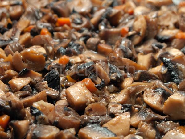Mushroom food Stock photo © ia_64