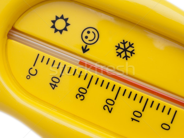 Sıcaklık termometre soğuk ısı sağlık tıbbi Stok fotoğraf © ia_64