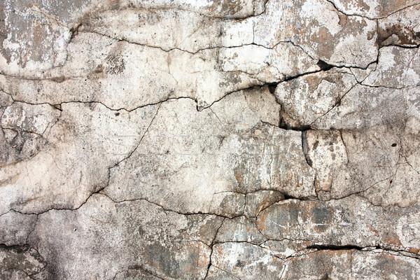 Cracked wall Stock photo © ia_64