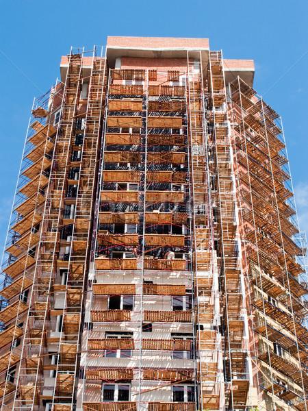 Building skyscraper Stock photo © ia_64
