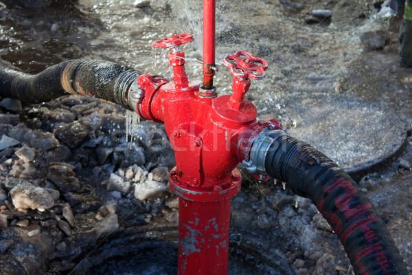 Fire hose valve Stock photo © ia_64