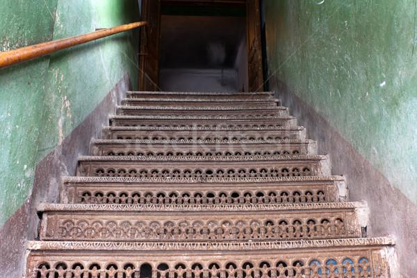 Doorway staircase Stock photo © ia_64