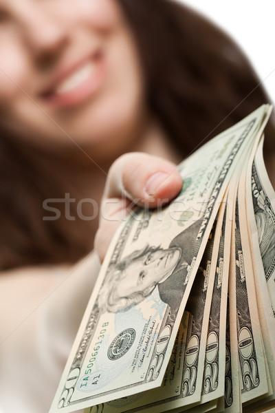 доллара валюта стороны Финансы предпринимателей Сток-фото © ia_64