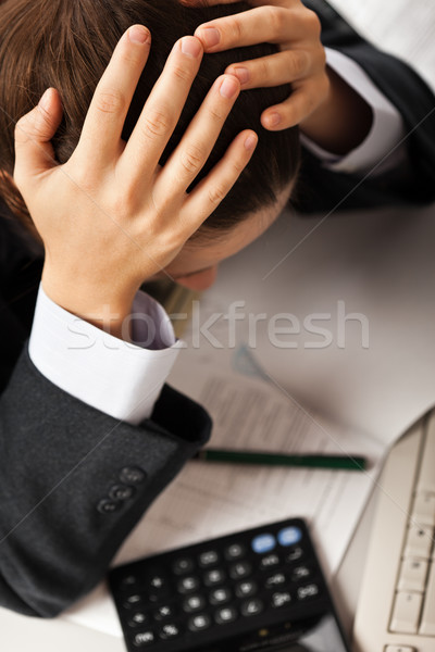 Tired businessman Stock photo © ia_64