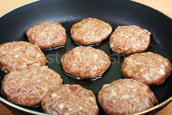Cutlet food Stock photo © ia_64