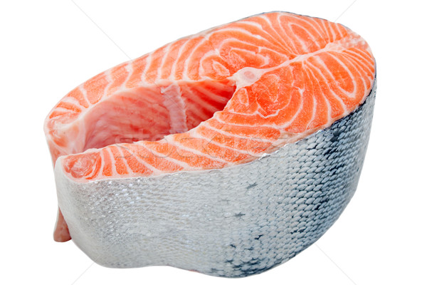 Salmon fish Stock photo © ia_64