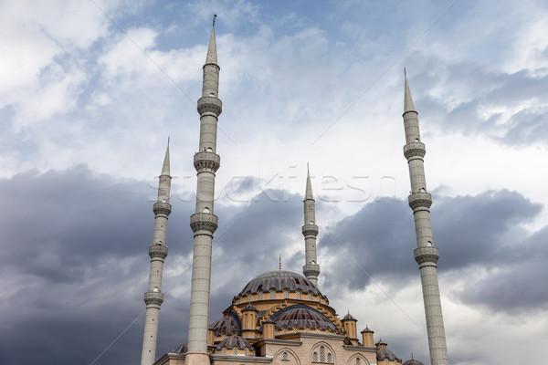 Müslüman İslamiyet din cami Türkiye Stok fotoğraf © ia_64