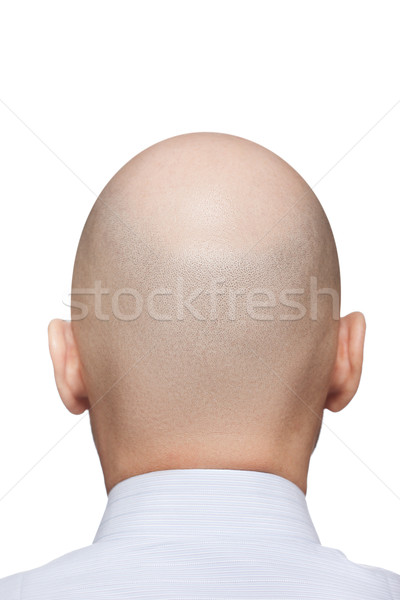 Bald man head Stock photo © ia_64