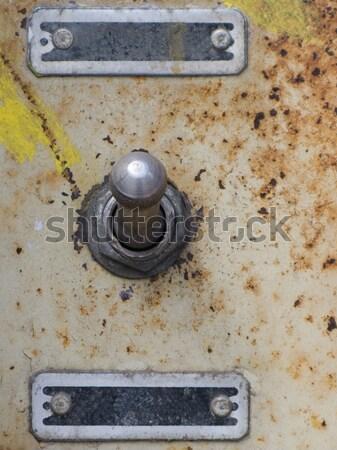 Power knob Stock photo © ia_64
