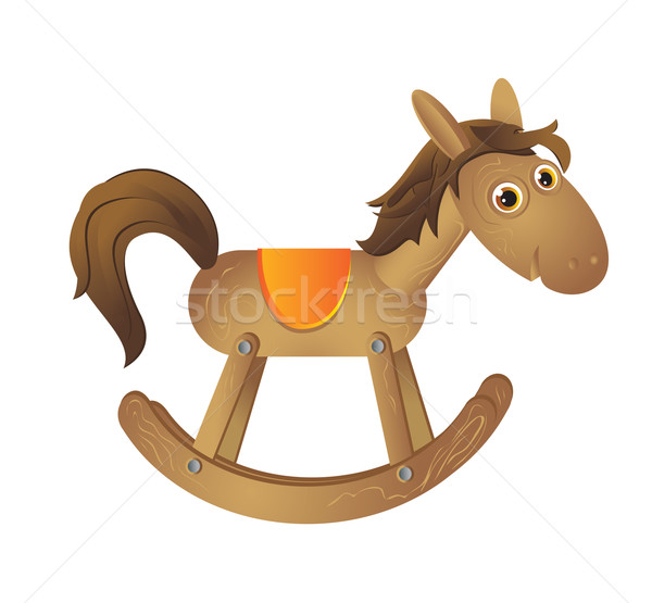 wooden horse Stock photo © iaRada