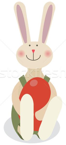 イースター ウサギ 春 幸せ 芸術 バニー ストックフォト © iaRada