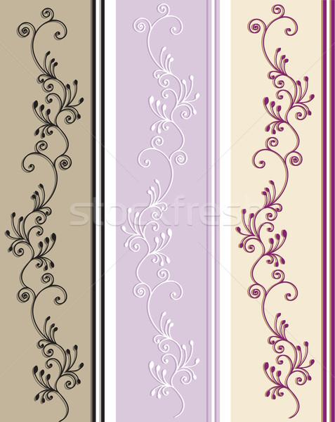 Minta különböző színek dekoráció vektor illusztráció Stock fotó © iaRada