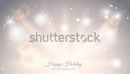 Abstract licht magie horizontaal gloed Stockfoto © Iaroslava
